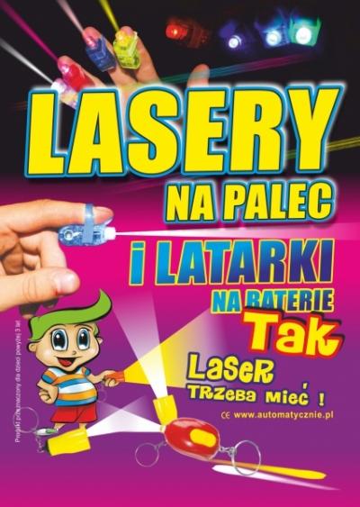 Lasery - 70 gr/ szt brutto
