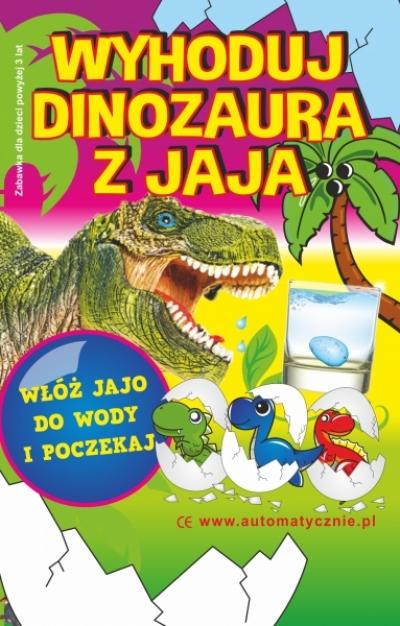 Wyhoduj dinozaura z jaja 40gr/szt bruuto