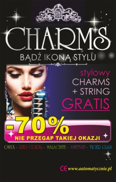 Charms 27 gr/szt brutto