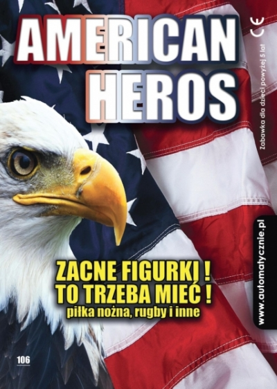 American Heroes - 65gr/szt brutto