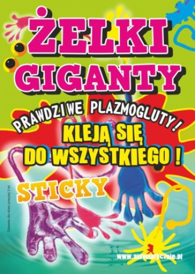 Żelki Giganty 48gr
