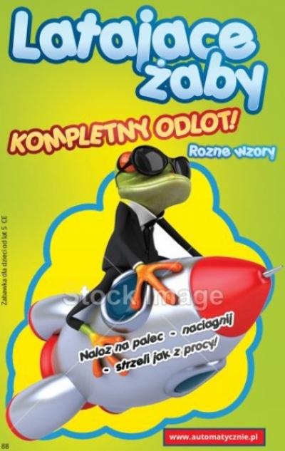 Latające żaby - 29gr/szt brutto