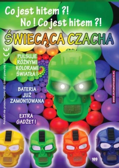 Świecąca Czacha - 74 gr/szt brutto