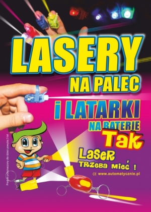 Lasery - 70 gr/ szt brutto
