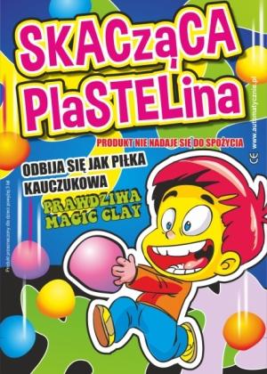 Skacząca Plastelina - 75gr/szt brutto