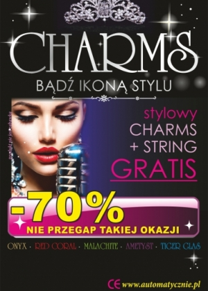 Charms 27 gr/szt brutto
