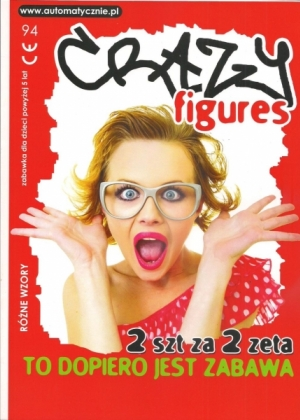 Crazzy figures - 75 gr/szt brutto
