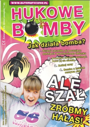 Hukowe bomby - 50gr/szt brutto