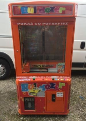 Automat zarobkowy Buldożer w obniżonej cenie
