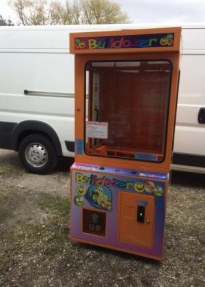 Automat zarobkowy Buldożer 100 % sprawny