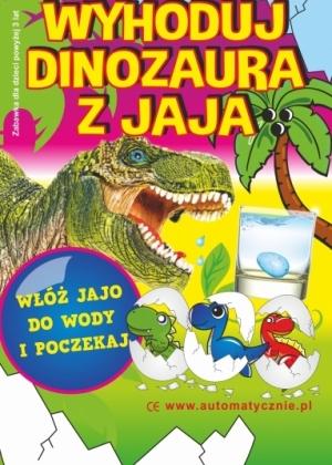 Wyhoduj dinozaura z jaja 50gr/szt bruuto